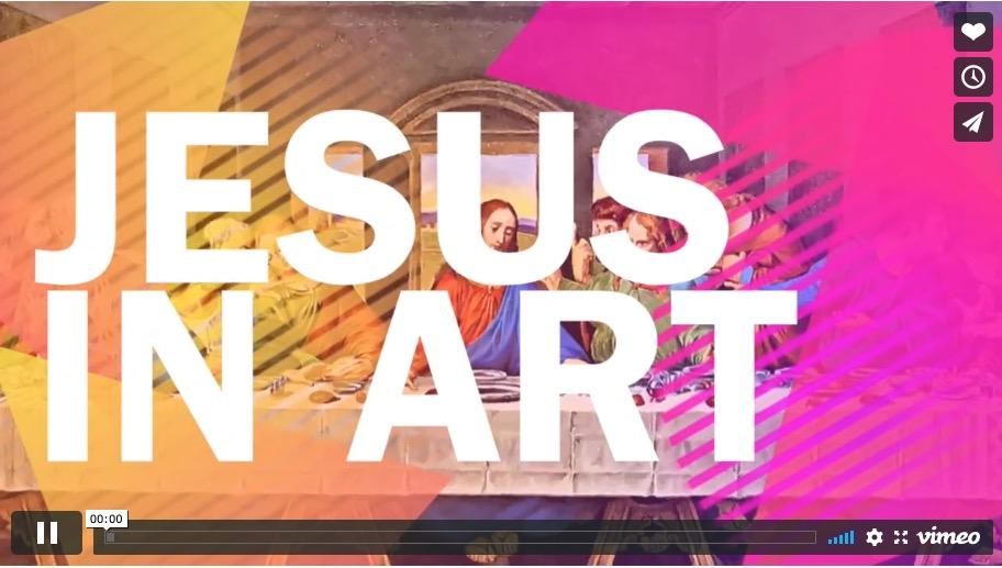 Jesus in Art Light Part 1